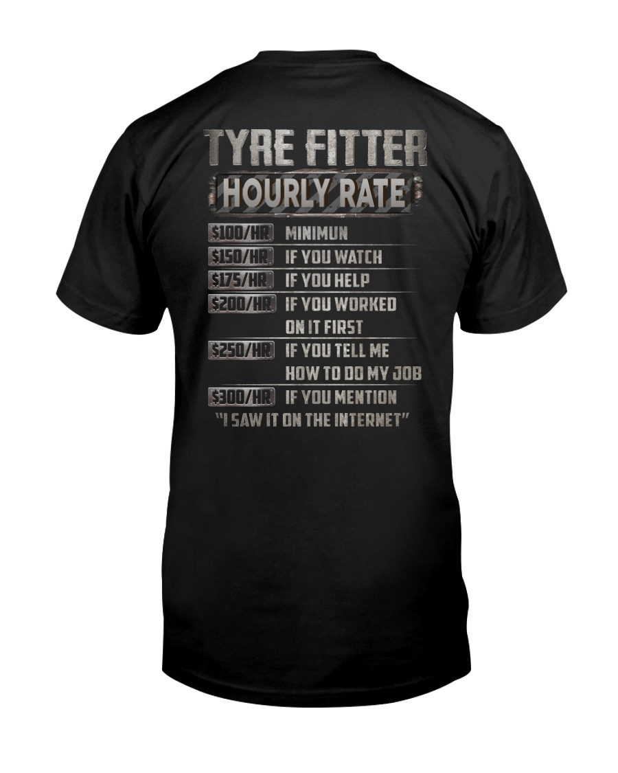Special Shirt - Tyre Fitter Classic T-Shirt