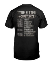 Special Shirt - Tyre Fitter Classic T-Shirt back