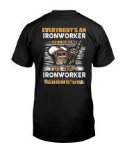 Ironworker Classic T-Shirt back