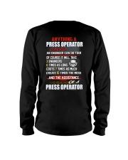Press Operator Long Sleeve Tee thumbnail