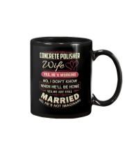 Concrete Polisher Wife  Mug thumbnail