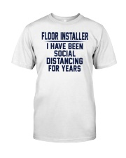 Floor installer Classic T-Shirt front