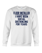 Floor installer Crewneck Sweatshirt thumbnail