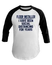 Floor installer Baseball Tee thumbnail