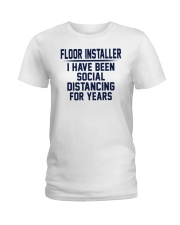 Floor installer Ladies T-Shirt thumbnail