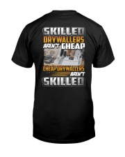 Special Shirt - Drywallers Classic T-Shirt back