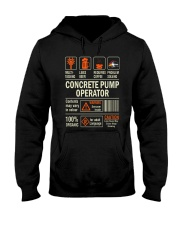 Concrete Pump Operator Hooded Sweatshirt thumbnail