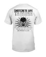 Shotcrete Life Classic T-Shirt back