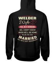 Welder Wife  Hooded Sweatshirt thumbnail