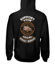 Asphalt Workers Hooded Sweatshirt thumbnail