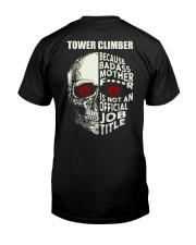 Tower Climbers Classic T-Shirt back