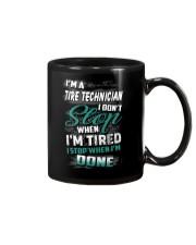 Special Shirt - Tire Technician Mug thumbnail