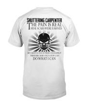 Shuttering Carpenter Classic T-Shirt back
