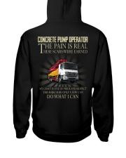 Concrete pump operator Hooded Sweatshirt thumbnail
