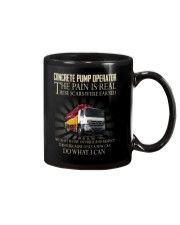Concrete pump operator Mug thumbnail