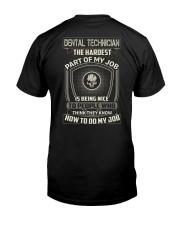Special Shirt - Dental Technicians Classic T-Shirt back