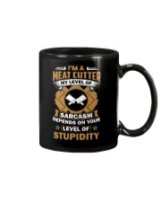 Special Shirt - Meat cutter Mug tile