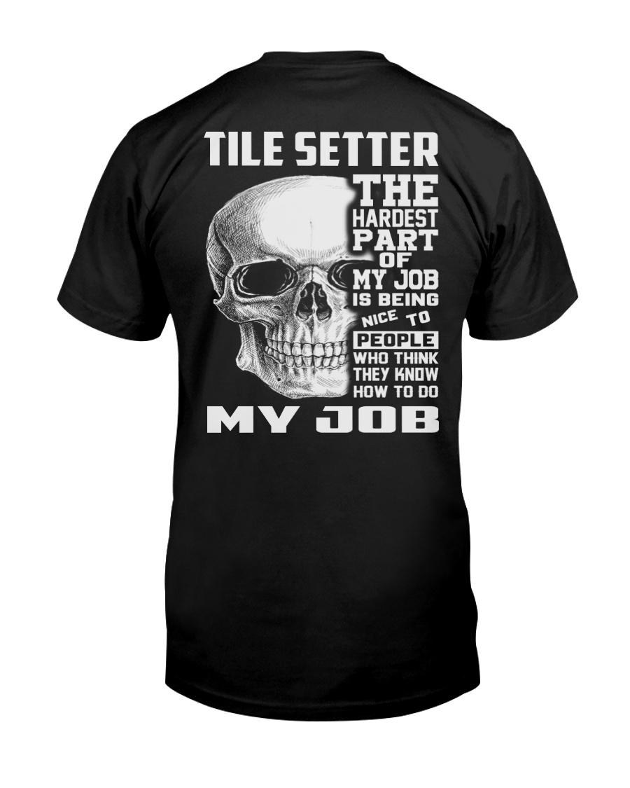 Special Shirt - Tile Setter Classic T-Shirt