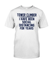 Tower Climber Classic T-Shirt front