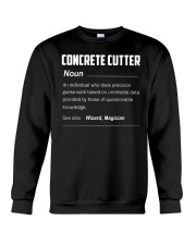 Concrete Cutter Crewneck Sweatshirt tile