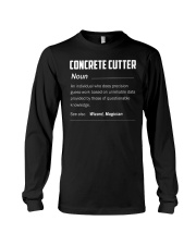 Concrete Cutter Long Sleeve Tee thumbnail