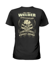 Welder Awesome Ladies T-Shirt tile