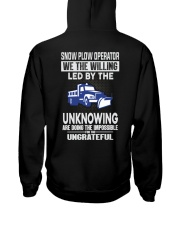 Snow Plow Operator Hooded Sweatshirt thumbnail