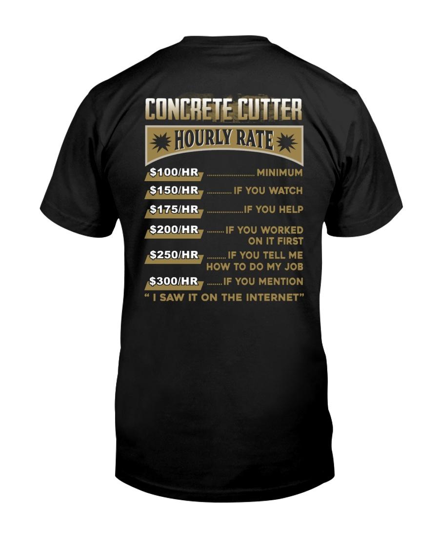 Concrete Cutter Classic T-Shirt