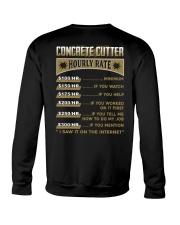 Concrete Cutter Crewneck Sweatshirt thumbnail