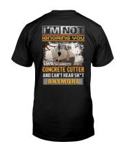 Concrete Cutters Classic T-Shirt back