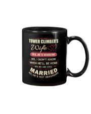 Tower Climber's wife  Mug thumbnail