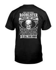 Rodbuster Classic T-Shirt back