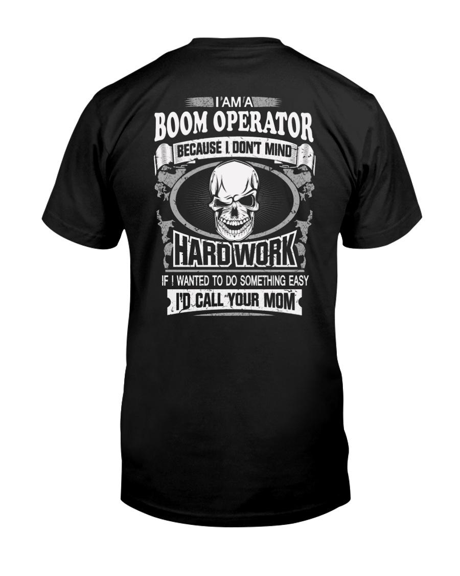 Boom Operator Classic T-Shirt