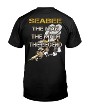 Special Shirt - Seabee Classic T-Shirt back