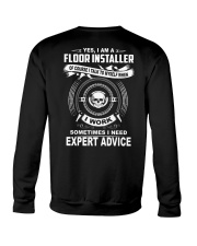 Floor Installer Crewneck Sweatshirt thumbnail