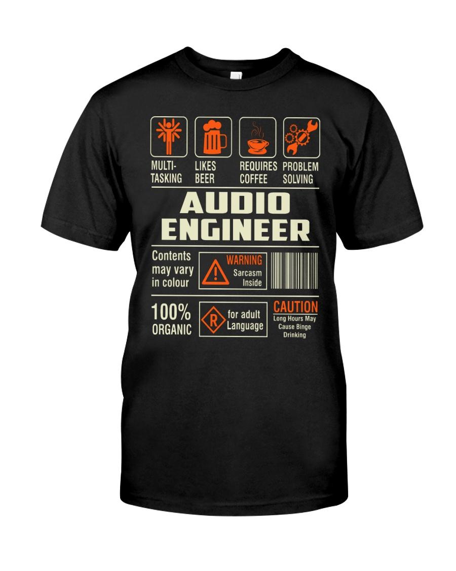 Special Shirt - Audio Engineer Classic T-Shirt