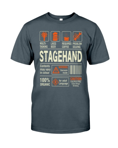 Stagehand  T-Shirt Limited Edition