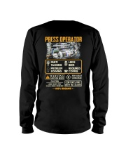 Press Operator Long Sleeve Tee thumbnail