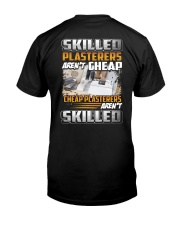 Special Shirt - Plasterer Classic T-Shirt back