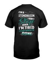 Stonemason Classic T-Shirt back