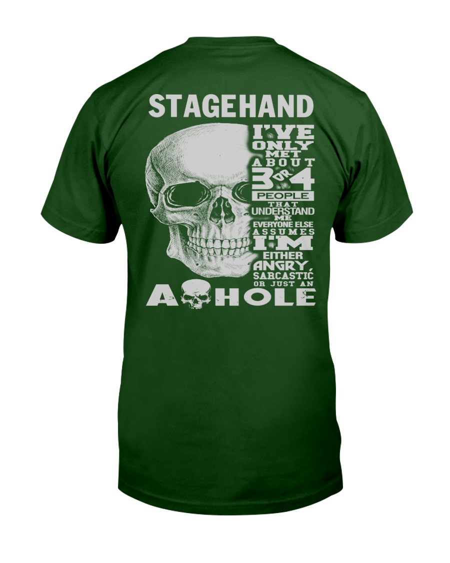 Stagehand Guy Classic T-Shirt