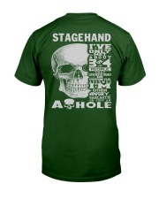 Stagehand Guy Classic T-Shirt back