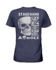 Stagehand Guy Ladies T-Shirt thumbnail