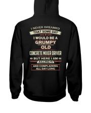 Special Shirt - Concrete Mixer Driver Hooded Sweatshirt thumbnail