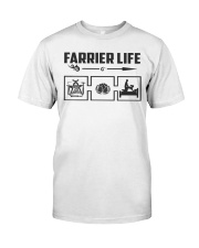 Farrier Life Classic T-Shirt front