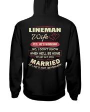 Lineman wife  Hooded Sweatshirt thumbnail