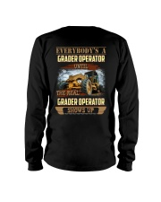 Grader Operator Awesome Long Sleeve Tee thumbnail