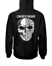 Concrete Finisher Hooded Sweatshirt thumbnail