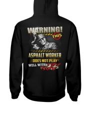 Asphalt Worker Hooded Sweatshirt thumbnail