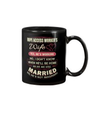 Rope Access Worker's wife Mug thumbnail
